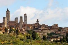 圣Gimignano 免版税图库摄影