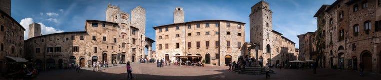 圣Gimignano 库存图片