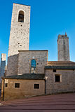 Gimignano de San, Toscana, Italia. imagenes de archivo