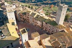 Gimignano de San, Toscane, Italie. image libre de droits