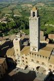 gimignano italy san tuscany Royaltyfri Foto