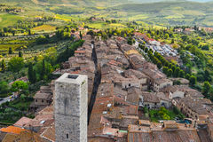 gimignano Italy San Tuscany widok Zdjęcie Stock