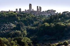 gimignano san Тоскана Стоковое Фото