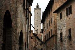 gimignano san Стоковое Изображение