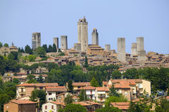 gimignano san Toscane Photos stock