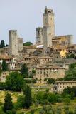 gimignano san Toscane Photo libre de droits
