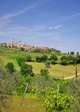 gimignano San Tuscany zdjęcie stock