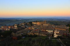 Gimignano van San Stock Afbeelding