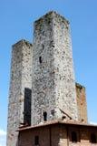 gimignanosan torn Royaltyfri Foto