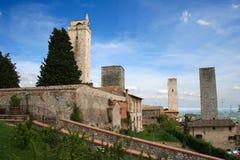giminiano Италия san Тоскана Стоковые Изображения