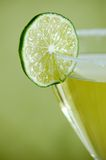 Gimlet and Lime Royalty Free Stock Image