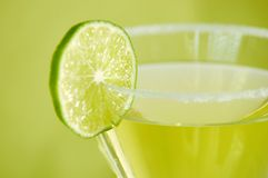 Gimlet and Lime Royalty Free Stock Images