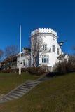 Gimli大厦在雷克雅未克,冰岛 库存图片