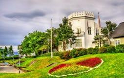 Gimli mieści, historyczny budynek w Reykjavik Obraz Royalty Free