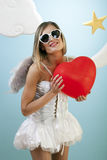 Gimme Your Heart Royalty Free Stock Images