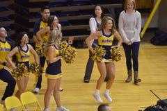2015 gimnasia del NCAA - estado de WVU-Penn Fotos de archivo libres de regalías
