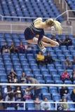 2015 gimnasia del NCAA - estado de WVU-Penn Foto de archivo