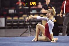 2015 gimnasia del NCAA - Maryland Imagen de archivo