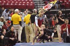 2015 gimnasia del NCAA - Maryland Fotografía de archivo