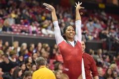 2015 gimnasia del NCAA - Maryland Fotografía de archivo libre de regalías