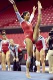 2015 gimnasia del NCAA - Maryland Fotos de archivo libres de regalías