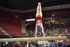 2015 gimnasia del NCAA - Maryland Imagenes de archivo