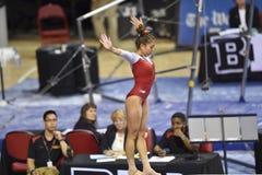 2015 gimnasia del NCAA - Maryland Fotos de archivo