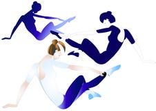 Gimnast ελεύθερη απεικόνιση δικαιώματος