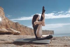 gimnasta Imagen de archivo libre de regalías