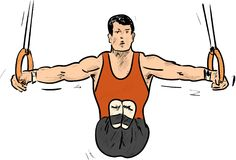 Gimnastic Zdjęcie Royalty Free