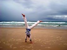 Gimnastics vor dem Sturm Lizenzfreies Stockbild