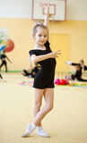 gimnastyczek potomstwa Zdjęcia Stock