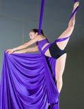 Gimnastyczka Zdjęcia Royalty Free