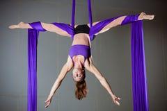 Gimnastyczka Zdjęcie Stock