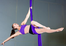 Gimnastyczka Obraz Stock