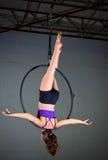 Gimnastyczka Zdjęcia Stock