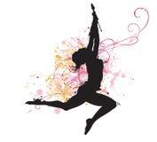 gimnastyczka Fotografia Stock