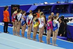 Gimnastyczki Zdjęcia Royalty Free