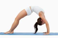 gimnastyczna ćwiczyć kobieta Obraz Royalty Free