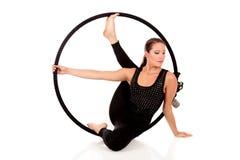 gimnastyczna atlety kobieta Obrazy Royalty Free