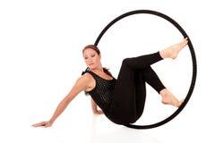 gimnastyczna atlety kobieta Zdjęcie Royalty Free