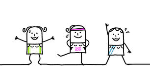 gimnastyczny ilustracja wektor