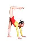 gimnastyk pozy Obrazy Stock