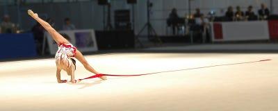 gimnastyka sztuki Zdjęcie Royalty Free