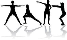 Gimnastyki ilustracji