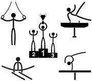 gimnastyki Obrazy Royalty Free