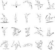 gimnastyki Obraz Stock