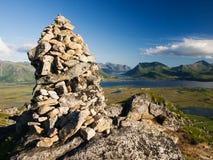Gimsoy island, Lofoten Royalty Free Stock Photos