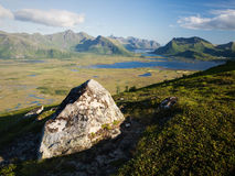 Gimsoy island, Lofoten Royalty Free Stock Photo