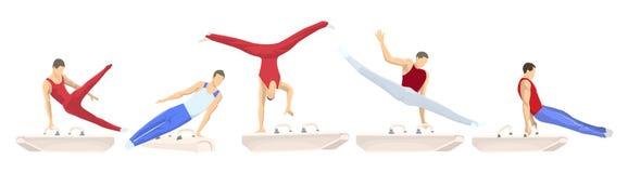 2ecedf0bd Esportes Do Verão Ajustados Ilustração do Vetor - Ilustração de ...